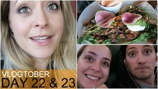 Homeward Bound (the other way around!) Vlogtober 22 & 23