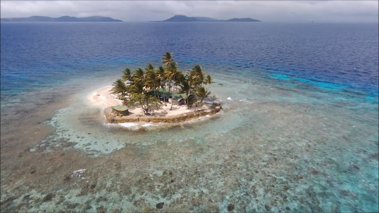 Flying Over Jeep Island With Bebop Drone 2