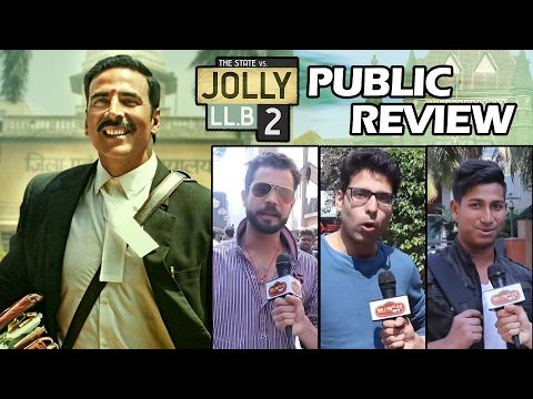 Jolly LLB 2 - PUBLIC REVIEW - Akshay Kumar, Huma Qureshi - SUPER-HIT FILM