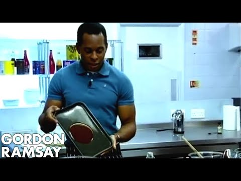 Making Chocolate Mousse with Andi Peters - Gordon Ramsay