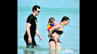 melanie c and scarlet starr in barbados 2011