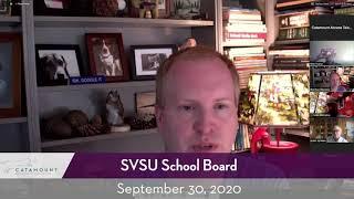 SVSU Board // 09/30/20