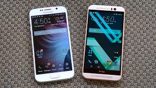 Samsung Galaxy S6 vs HTC One M9: Turning the Tables