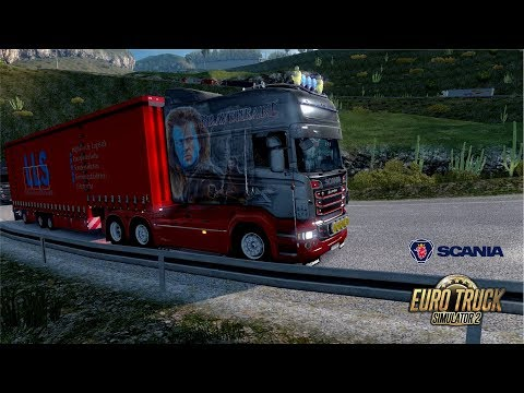 ETS2 1.30 Mario Map Scania R730 Casablanca - Tiaret