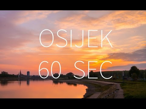 Osijek in 60 sec — Croatia | DRONE FOOTAGE | Pointers Travel