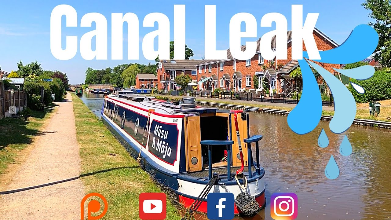 Narrowboat Living On The Shropshire Union Canal, Surrounded By YouTube Vloggers. Canalboat Life