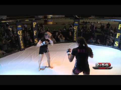 Paige Vanzant Vs Amber Stautzenberger  Premier Fight Series 2