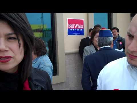 Rep. Carol Alvarado in Edcouch to Support Bill White
