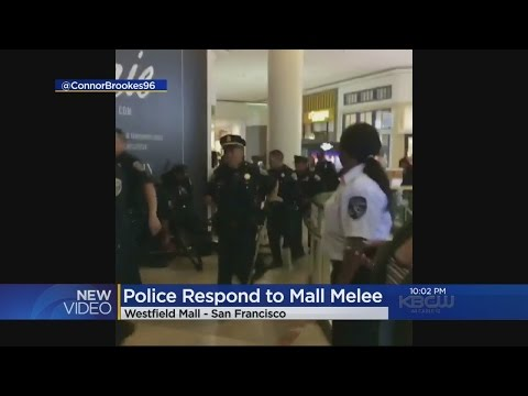 MALL BRAWL:  Brawl forces lock down of San Francisco's Westfield Mall