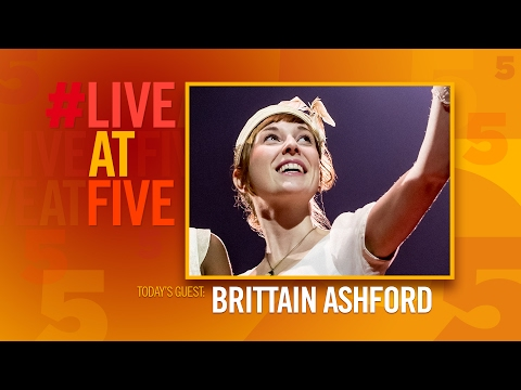 Broadway.com #LiveatFive with Brittain Ashford of THE GREAT COMET