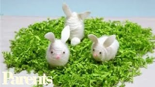 How to Make Fuzzy Bunny Easter Eggs   Parents