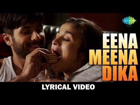 Eena Meena Deeka Lyrical | Shahid Kapoor | Alia Bhatt | Shandaar | Mikey McCleary Mix