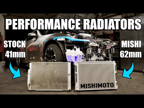 The Z Gets A THICCCK Upgraded Radiator