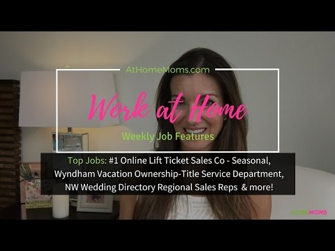 Make Money at Home | Jobs for Stay at Home Moms | 100% Online and at Home