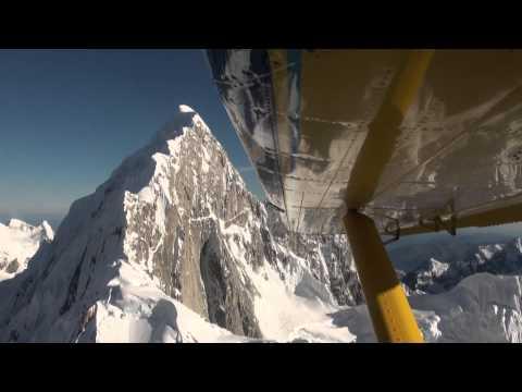 Mt McKinley Alaska Scenic Flight [HD]