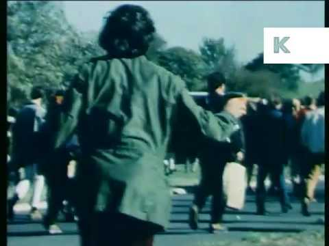 1967 March on the Pentagon, Rare Color Footage, Protest, Washington