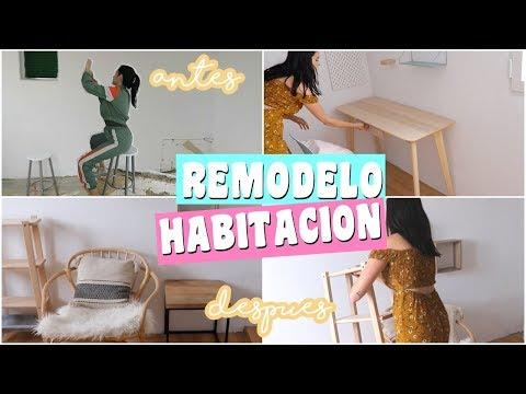 REMODELANDO MI CUARTO  ♡ CAMBIO RADICAL DE MI HABITACIÓN LOW COST! Laura Mendez thumbnail