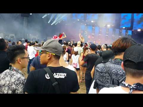 Knife Party Live @ Ultra Music Festival Singapore 2017