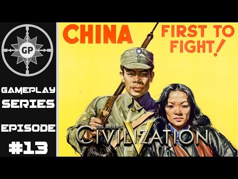 Victory in Asia - Civilization V R.E.D. WWII Edition Revived China Series #13 (Finale)