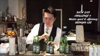 Fastest Bartender BATW 15 - SeongHa Lee