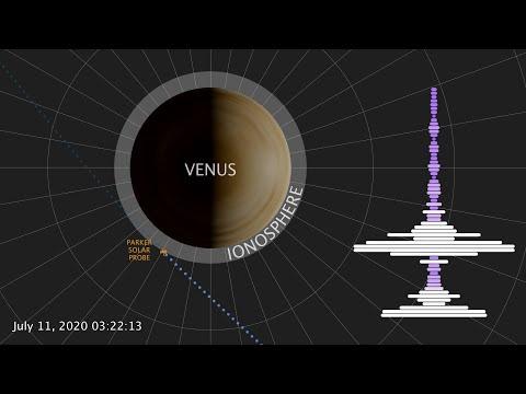 NASA探测器飞越金星 接收到一段超诡异录音(图/视频)