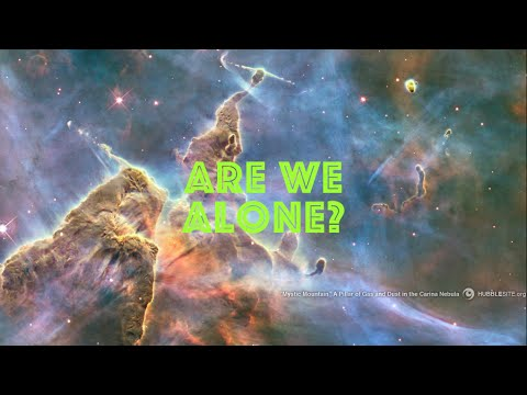 are we alone in the universe This documentary investigates one of the most controversial questions of the past hundred years are we alone in the universe this is not one those films that claims to have conclusive proof, but rather a look at the serious science of the search for extraterrestrial life.