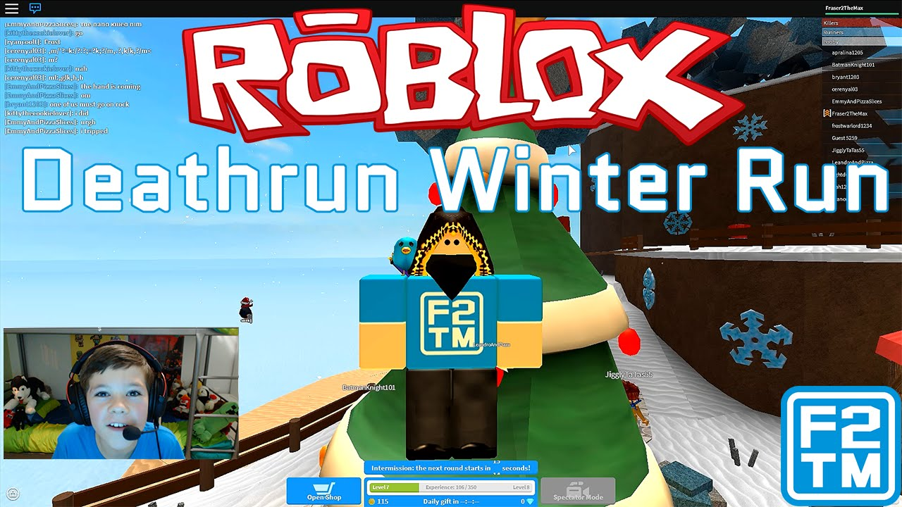 roblox deathrun winter codes