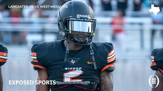 West Mesquite High School vs Lancaster High School Football Highlights | 2019 Texas Football