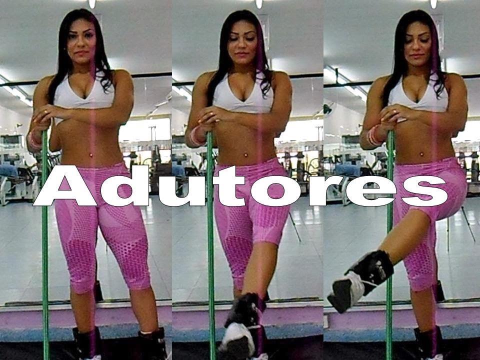 Exerc cio adutor youtube for Exercicio para interno de coxa