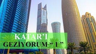 """Katar'ı Geziyorum """"1"""". Katar'a Nasıl Gidilir ? Doha Havalimanı ve Katar'la İlgili Genel Bilgiler."""