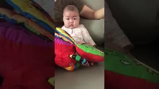 [아기성장기록 100일] 백일아기에게 '아기코끼…