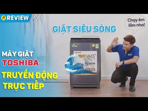 Máy giặt Toshiba Inverter 9 KG: truyền động trực tiếp, êm hơn, bền hơn (AW-DK1000FV) • Điện máy XANH