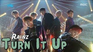 [Comeback Stage] RAINZ - Turn It up, 레인즈 - 턴 잇 업 Show Music core 20180127
