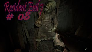 Resident Evil 7 s 08 Маргарита, отдай пожалуйста фонарик