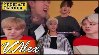 BTS - Entrevista Time - (Doblaje Parodia) | V.Alex YouTube Videos