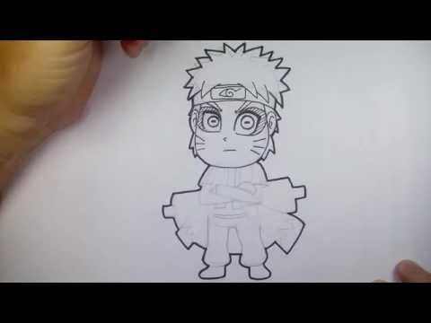 การ์ตูน นารุโตะ หมวดเซียน จาก การ์ตูน นินจานารุโตะ  วาดการ์ตูน กันเถอะ สอนวาดรูป การ์ตูน