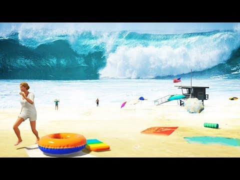 GTA 5 - Dropping a NUKE into the OCEAN!! (Huge Tsunami) from YouTube · Duration:  12 minutes 33 seconds