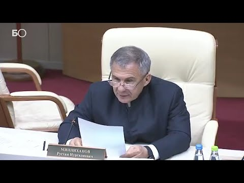 «Никаких послаблений»: Минниханов жестко поставил задачу соблюдать особый режим из-за коронавируса