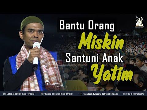 BANTU ORANG MISKIN, SANTUNI ANAK YATIM   Belilas, Indragiri Hulu, Riau   Ust. Abdul Somad, Lc., MA