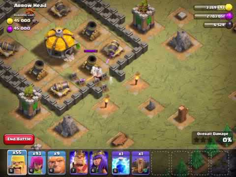 Clash of Clans Level-28 Arrow Head