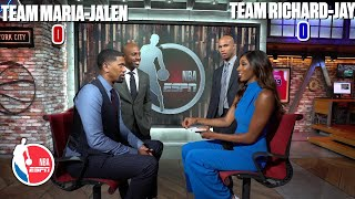 The NBA Countdown crew plays 'The Hot Seat' guessing game | NBA on ESPN