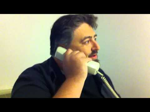 Twin Peaks Festival 2011 - Brian impersonates Lenny Von Dohlen on the phone