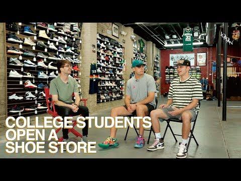 College Students Open a Shoe Store // ColaKicks (Entrepreneurship & Shoe Culture)