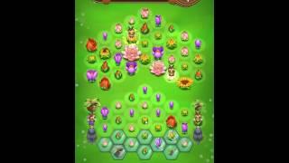 Blossom Blast Saga Level 147 No Boosters