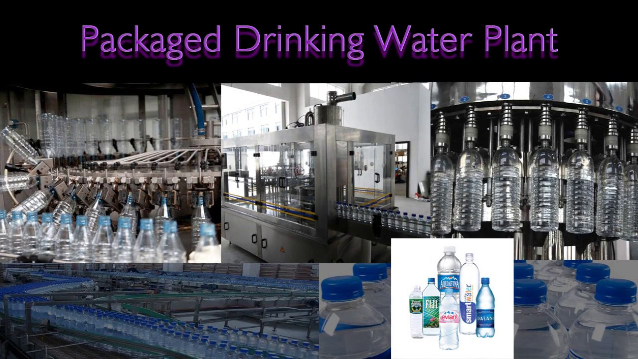 Packaged Drinking Water Plant Bottle Drinking Water Plant