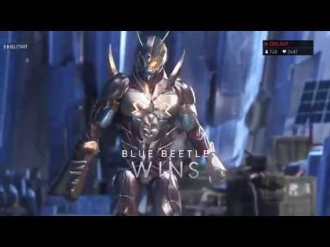 Injustice 2 - REO (Red Hood) VS DJT (Blue Beetle, Atrocitus) Online Matches