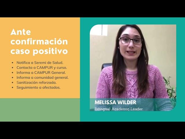Medidas preventivas - Colegio Pumahue Temuco
