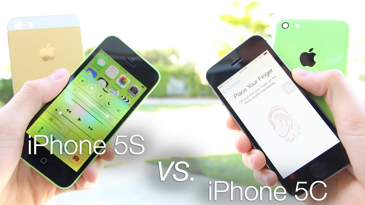 iphone 5c vs 5s iphone 5s vs iphone 5c 5s review amp comparison 1256