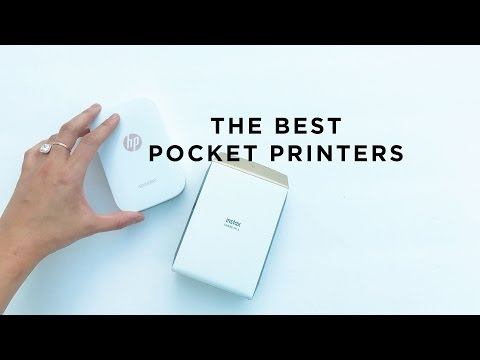 My Favorite Pocket Photo Printers!