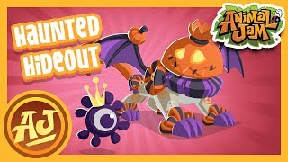 The Haunted Hideout Bundle is Here!  | Animal Jam